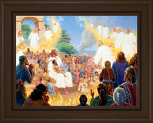 Christ Blesses the Children at Bountiful