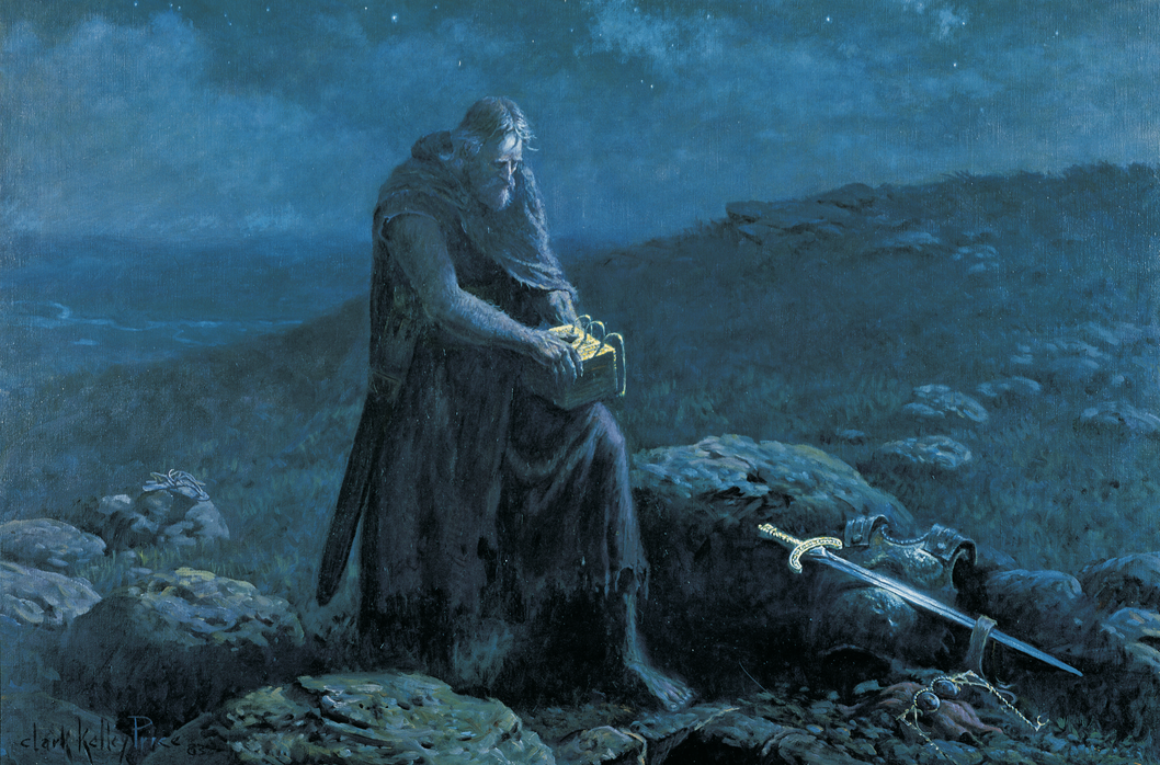Moroni Buries the Plates