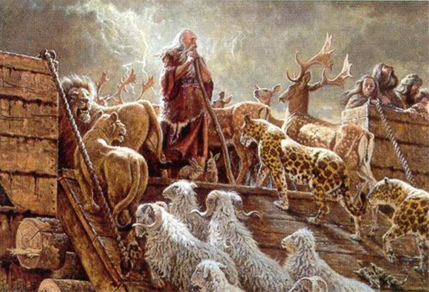 Noah's Ark - The Lord Fulfilleth All His Words