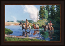 Crossing the Firehole