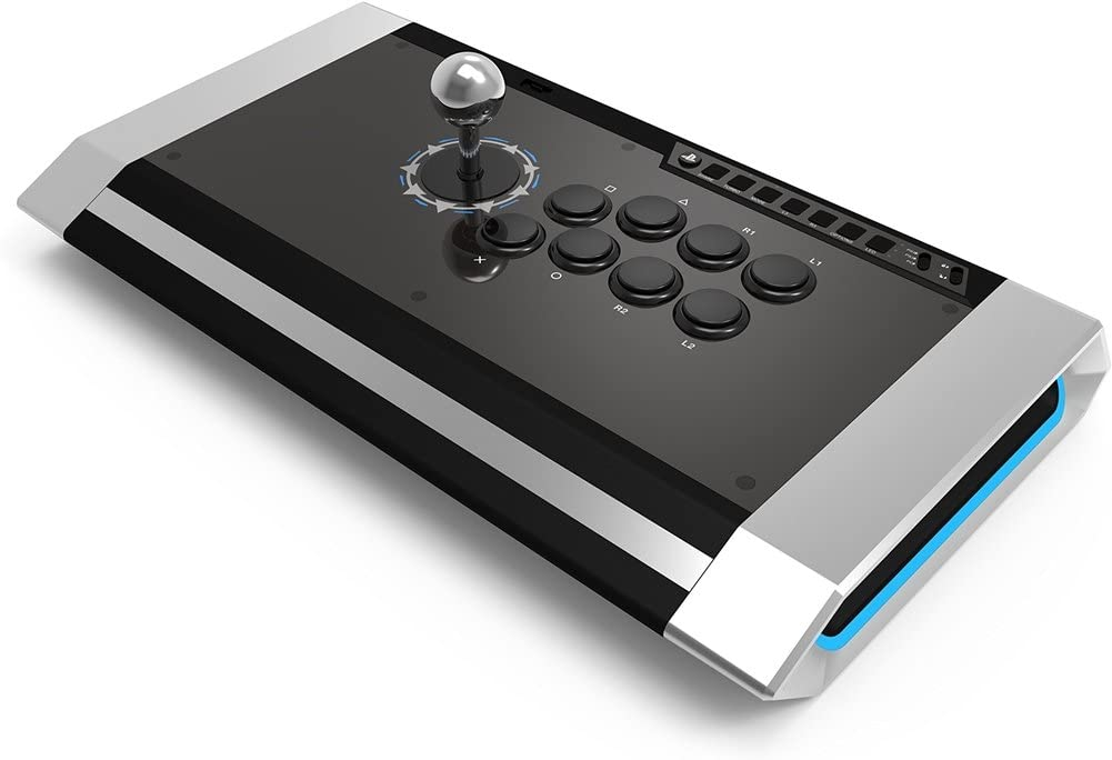 Qanba Obsidian Joystick for PlayStation 4 and PlayStation 3 and PC (ファイティングスティック) ソニー公式ライセンス取得製品