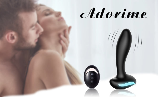 Male Prostate Massager Vibrating Anal Sex Toys with 9 Vibration Models