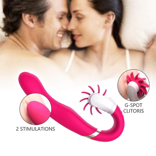 Tongue Vibrators Clitoris Stimulation with 12 Vibration Modes