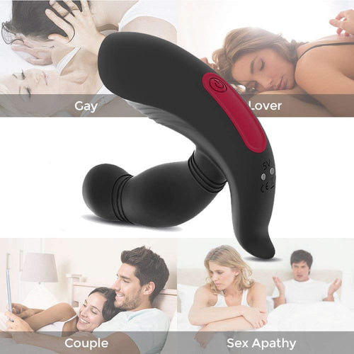 Prostate Massager Vibrating Anal P-spot with Wireless Remote Control