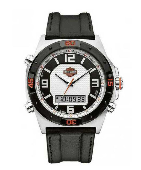 Harley Davidson men's chronograph watch - Bijouterie Setor