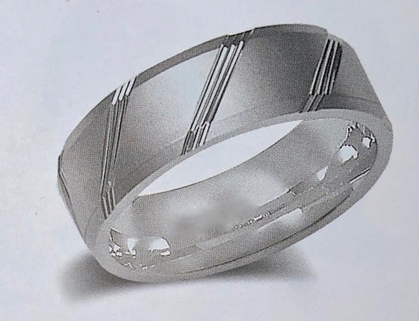 WEDDING BAND B10-7 - Bijouterie Setor
