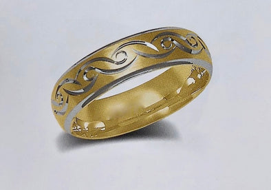 WEDDING BAND B37-7 - Bijouterie Setor