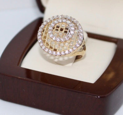 CIircle of life gold ring WR12 - Bijouterie Setor