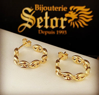 Mariners earrings E076 - Bijouterie Setor
