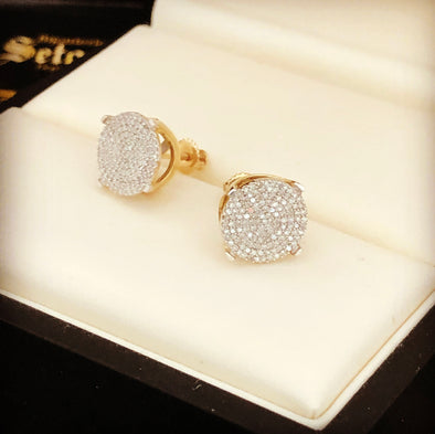 Diamond earrings DE-06 - Bijouterie Setor