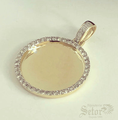 Diamond photo pendant II DP9 - Bijouterie Setor