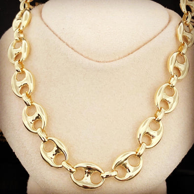 Mali gold chain MC-028 - Bijouterie Setor
