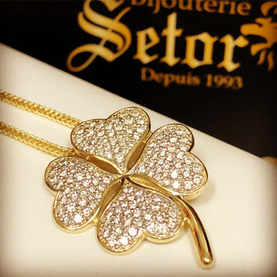 Lucky 🍀 Charm necklace DC- - Bijouterie Setor