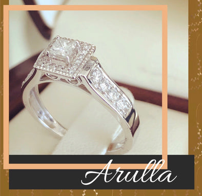 Arulla diamond engagement ring DER40 - Bijouterie Setor