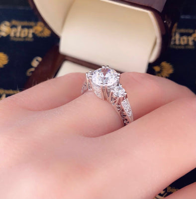 Riley engagement ring ZER11 - Bijouterie Setor