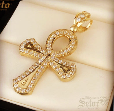 Cross of life pendant P-93 - Bijouterie Setor