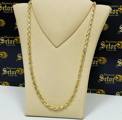 Carter Full rope chain MC107 - Bijouterie Setor