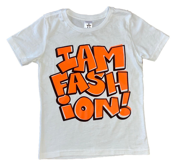 I AM FASHION-orange
