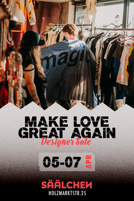 5. Make Love Great Again Designer Sale