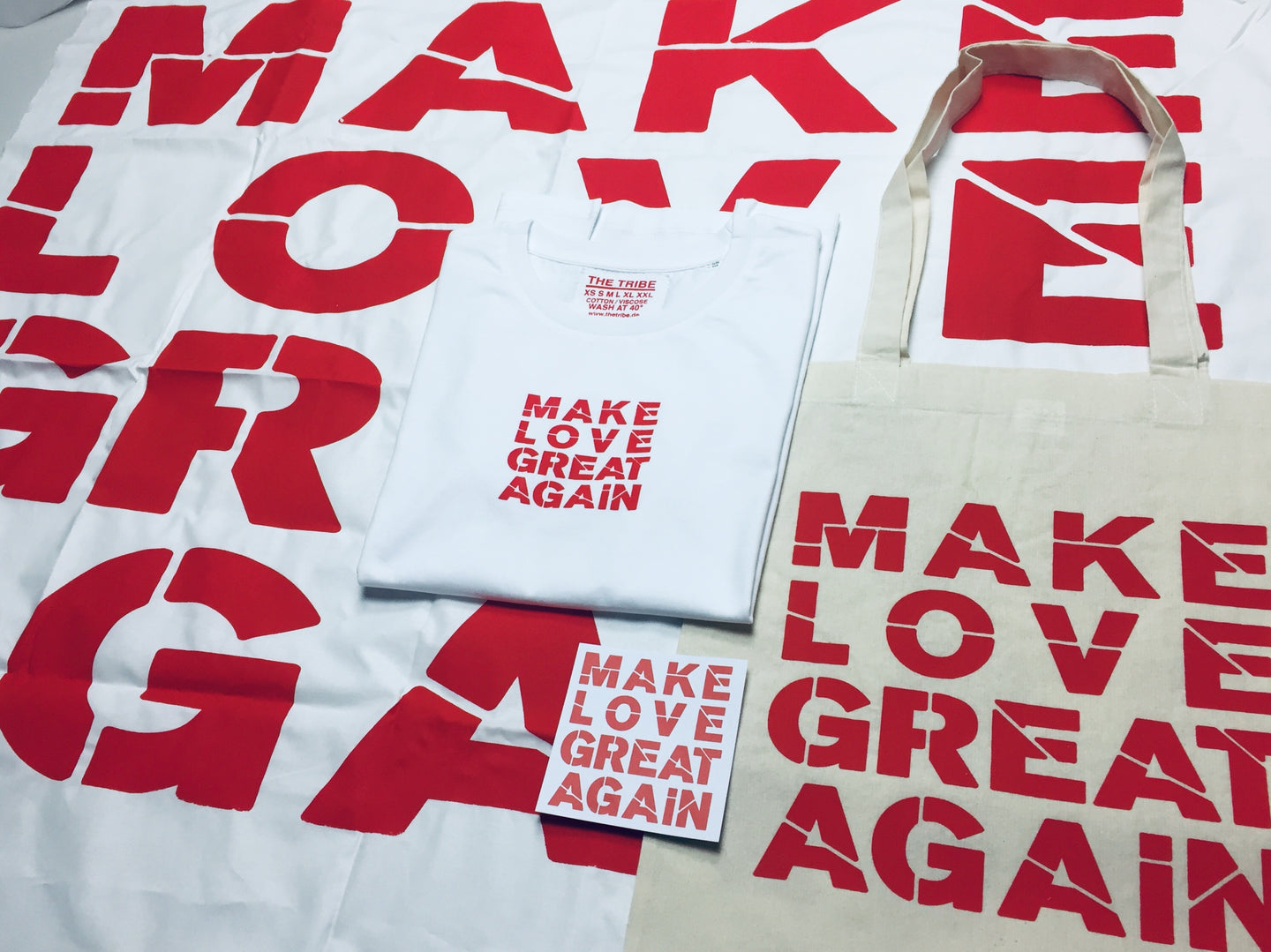 Make Love Great Again Guerilla Pack