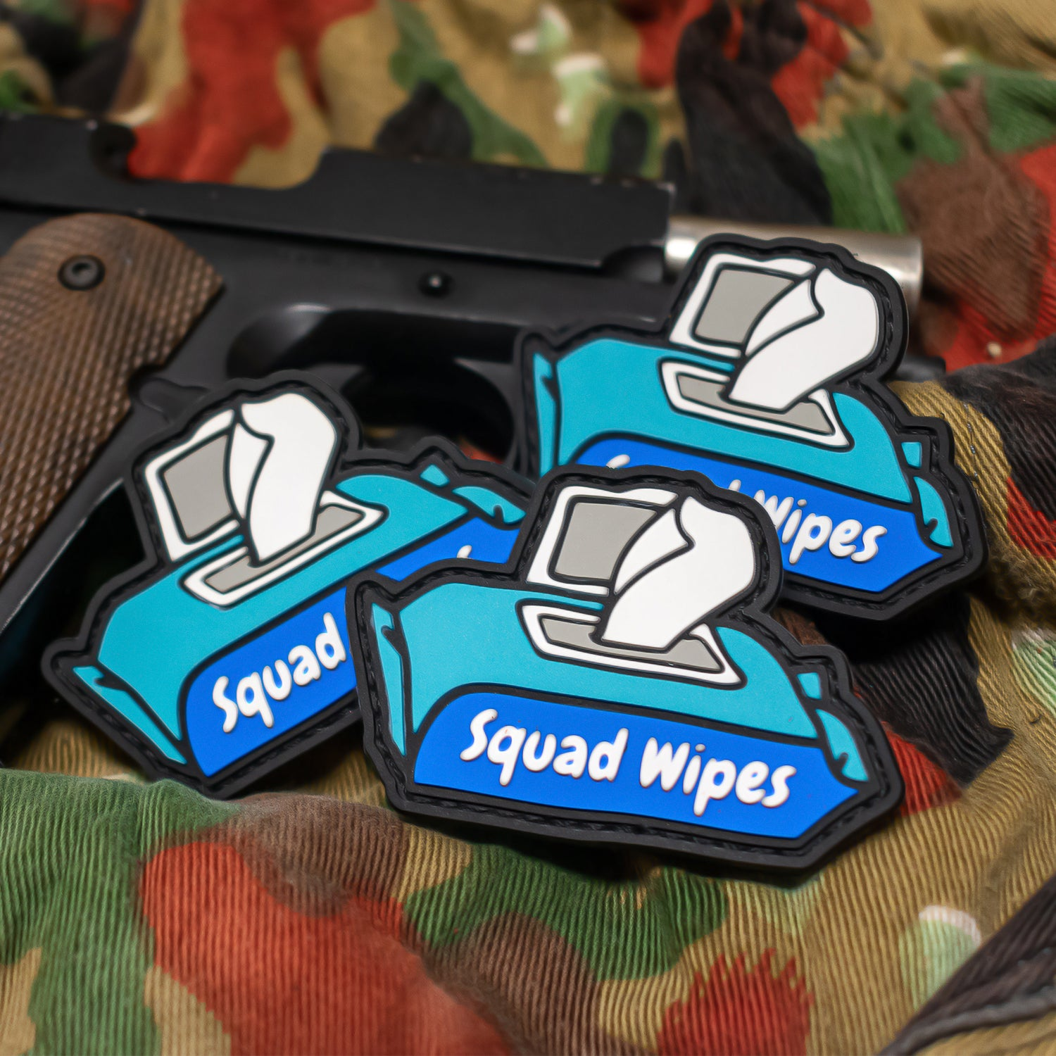 Squad Wipes - PVC Patch