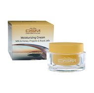 Ansiktskrem med kokosmelk, honning og propolis - for ømfintlig hud (moisturizing cream, milk & honey, propolis & royal jelly, DSM122