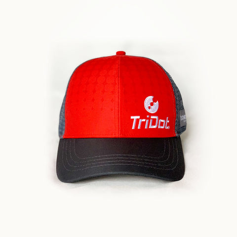 TriDot Boco Red Trucker Hat