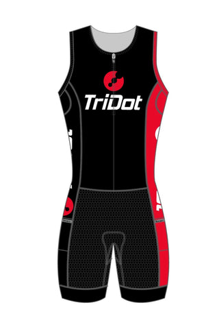 "TriDot Rocket Science RJ Men's One Piece Tri Suit (8"" Inseam)"