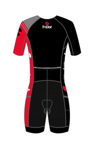 TriDot RS Men's One Piece Mid Sleeve RJ or ELite Tri Suit