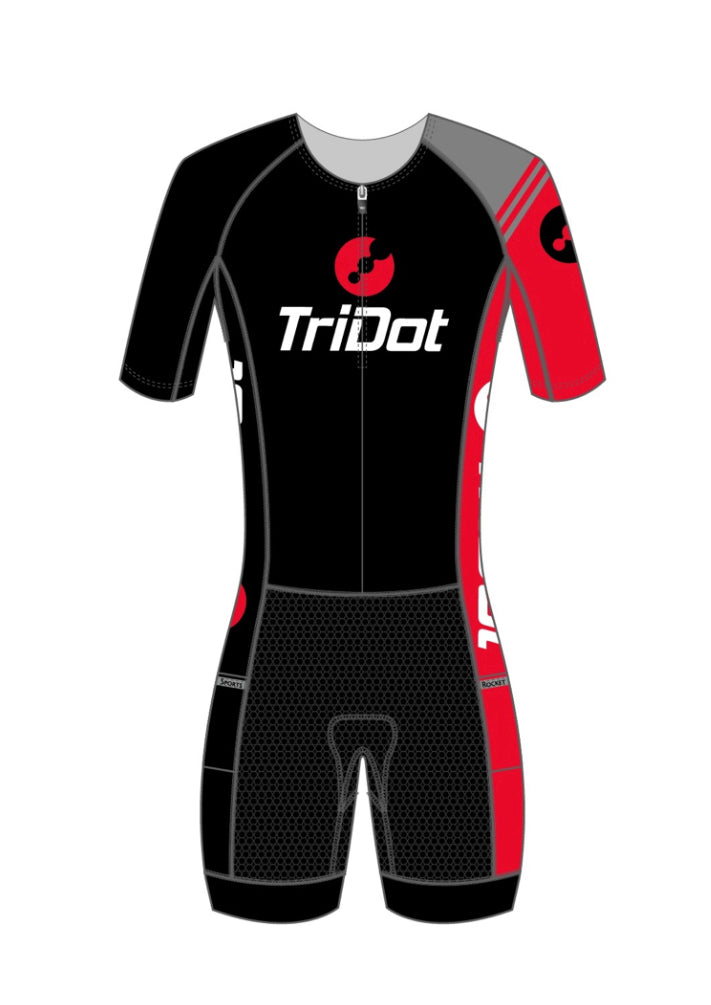 TriDot RS Women's 1PC Mid Sleeve RJ or Elite Tri Suit (5