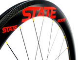 State Race Wheelset CUSTOMIZABLE 58mm (Rim or Disc Brake)