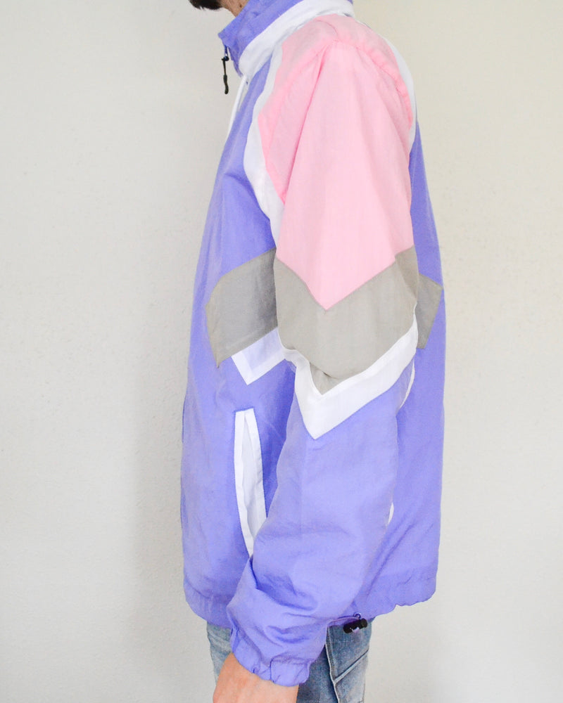Nylon Jacket- Pink and Purple