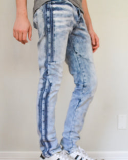 Flex III Denim Jeans- Stripe