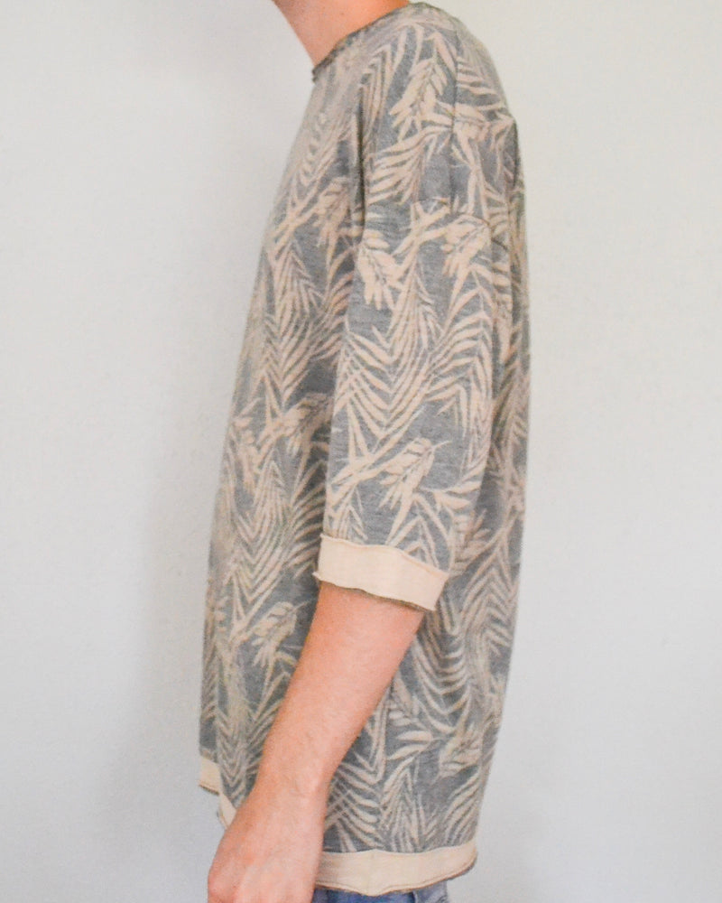 Desert Print Drop Shoulder Top