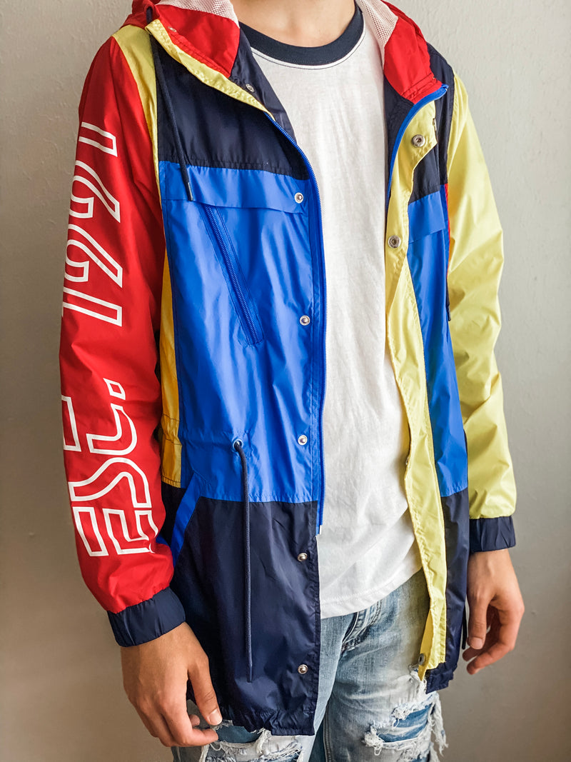 Nylon Jacket- Multi Contrast