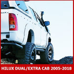 TOYOTA HILUX DUAL / EXTRA / SINGLE CAB 2005-2018