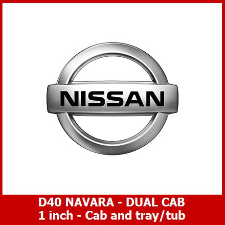 D40 NAVARA DUAL CAB - BODY LIFT KIT