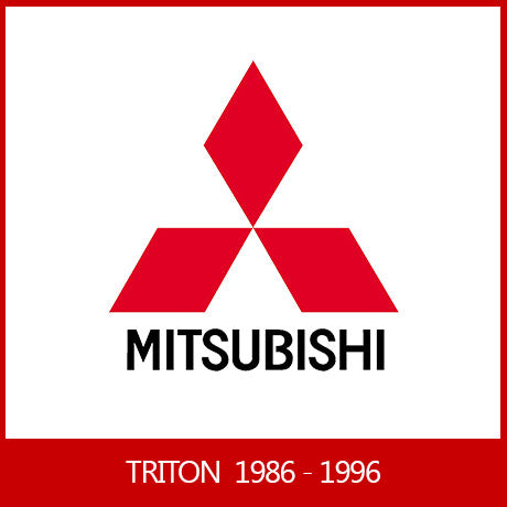 MITSUBISHI TRITON DUAL / CLUB / SINGLE CAB 1986 - 1996