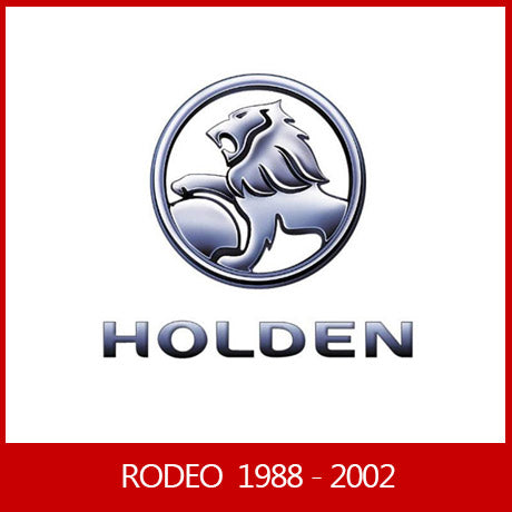 HOLDEN RODEO 1988-2002 Dual/Space cab or Single Cab