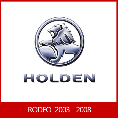 HOLDEN RODEO 2003 - 2008 DUAL / SPACE / SINGLE CAB