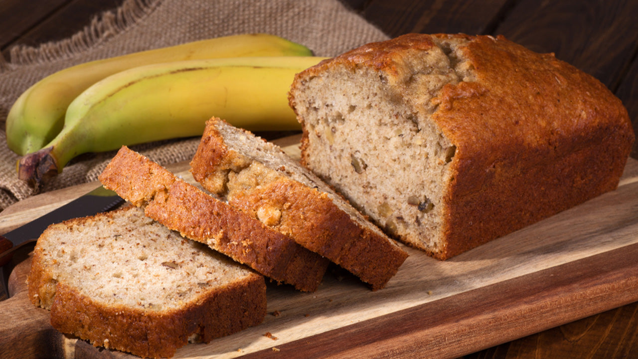 Healthy High Protein Banana Bread
