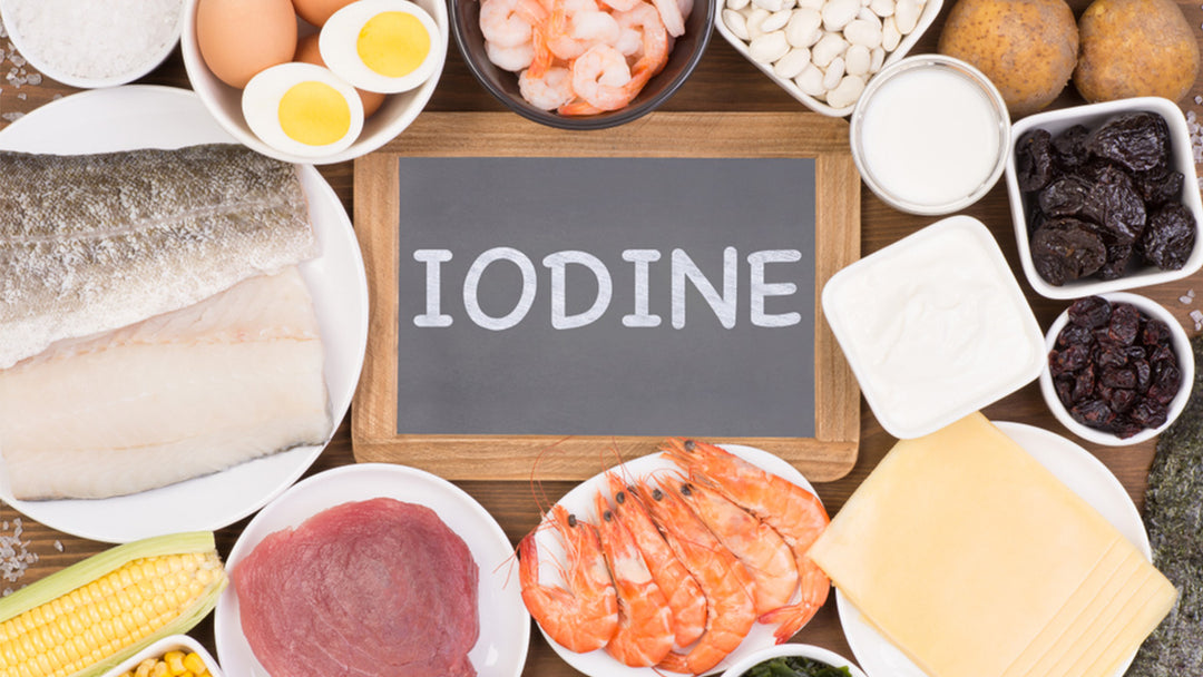 12 foods with iodine to add to your diet
