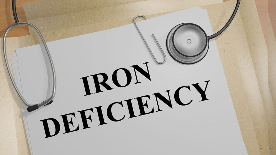 Signs of iron deficiency anemia