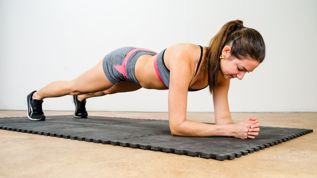 Forearm plank is an isometric exercise