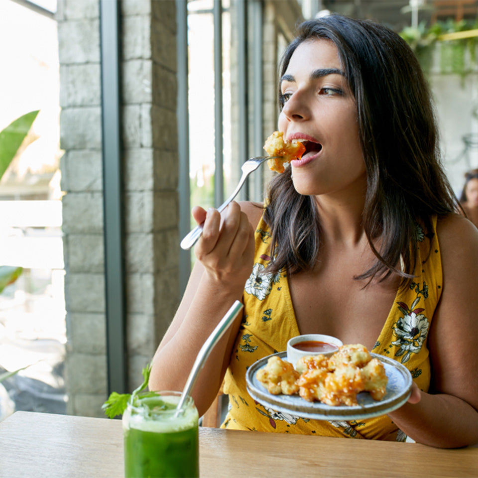 Losing weight with mindful eating