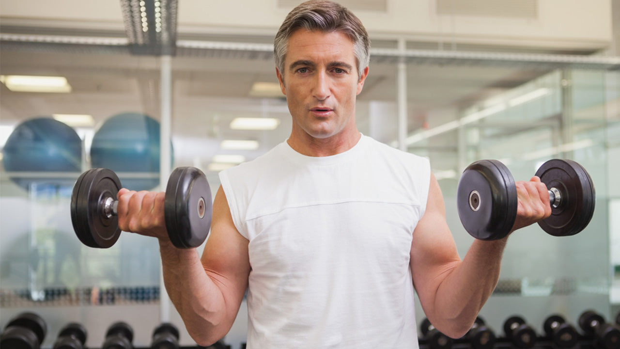 Top tips for building muscle after 50