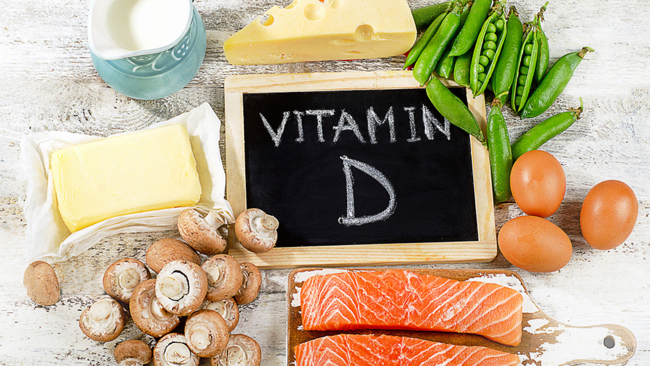 10 top vitamin D rich foods.