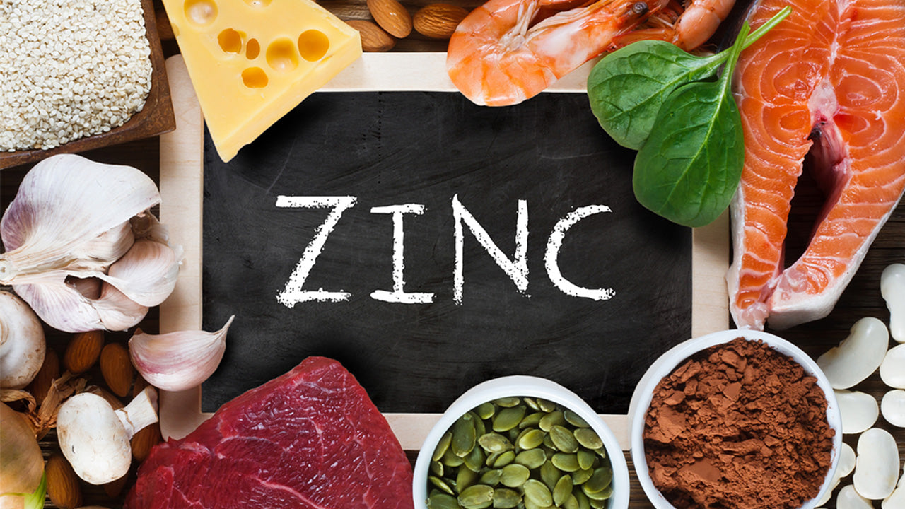 The top 12 foods with zinc