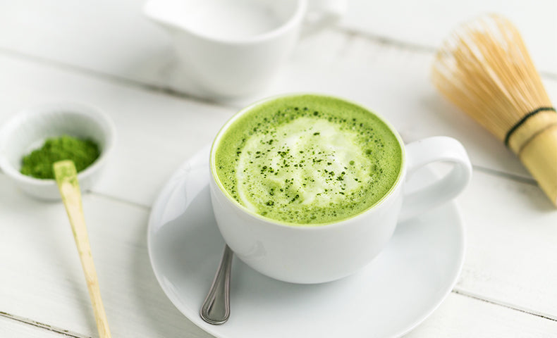 Matcha Honey Latte