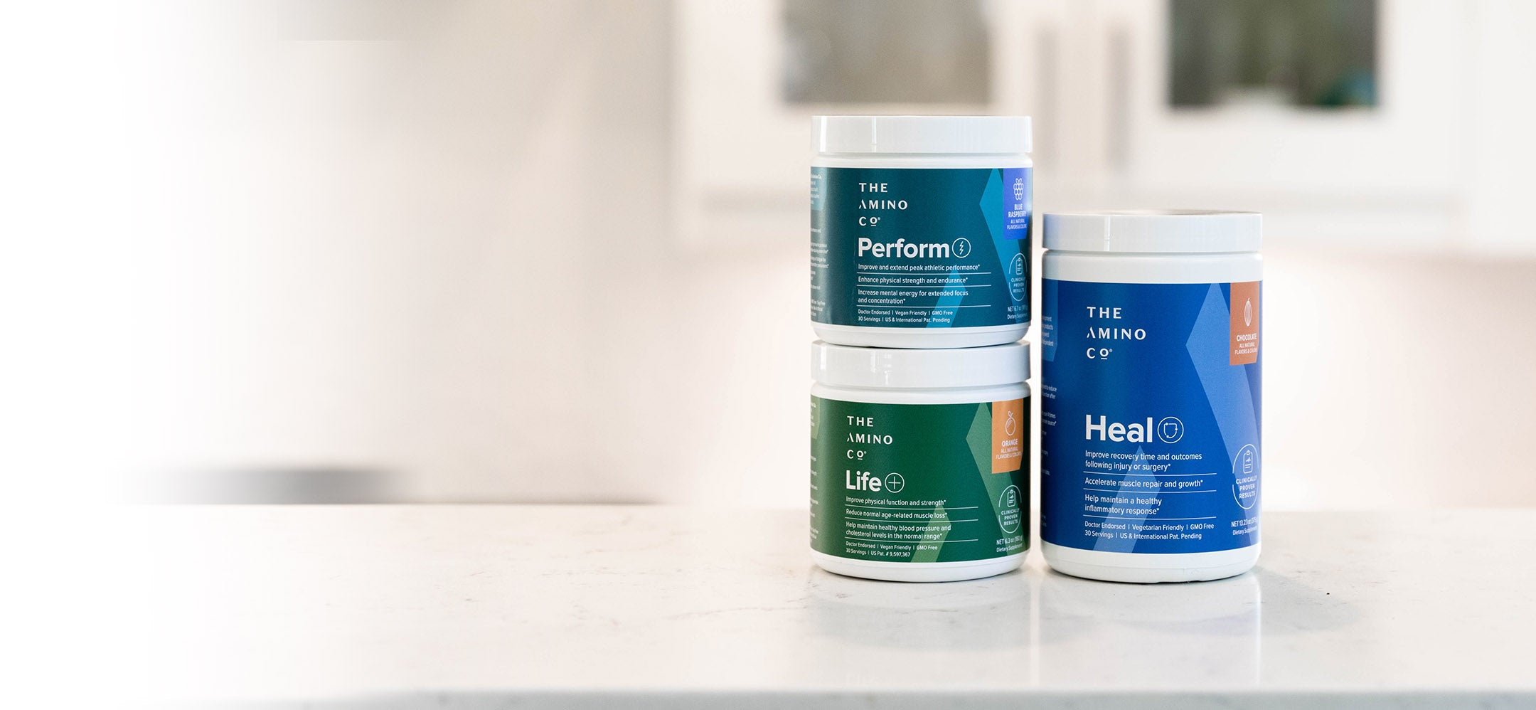 Amino company products can help maintain heart and muscle health, help you recover from surgery faster, and help you reach your athletic peak.